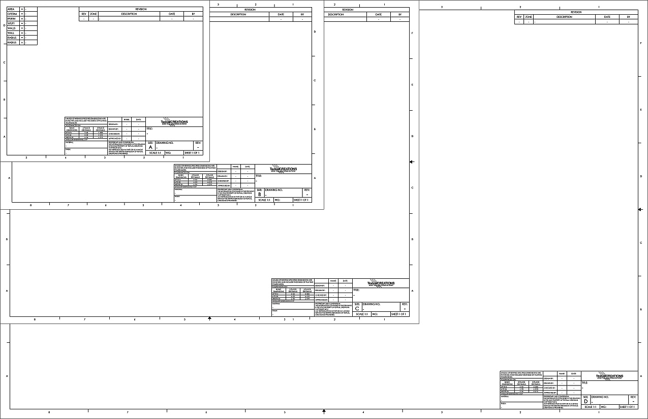 Drawing paper template choice image professional report for Blueprint paper size