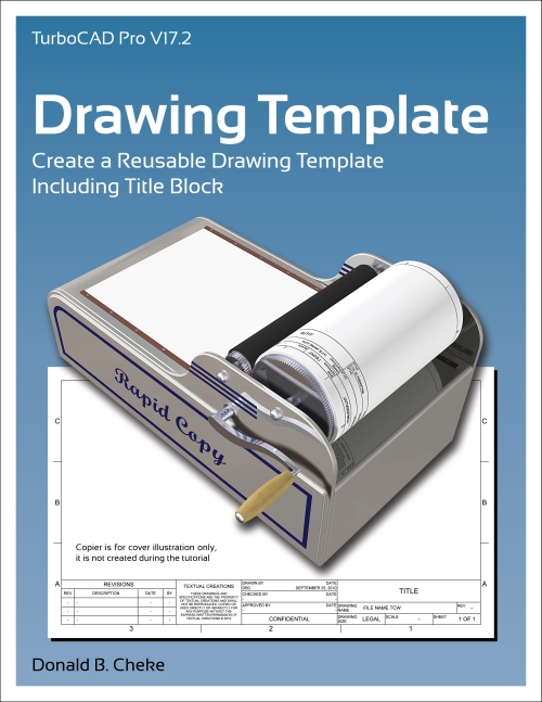 New turbocad tutorial drawing template textual for Turbocad templates free