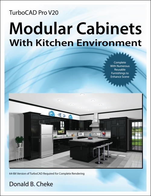 Modular Cabinets w Kitchen Scene Tutorial Cover Image