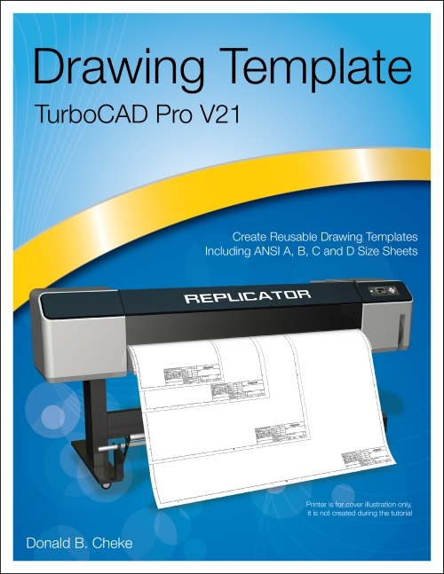 TurboCAD V21 Pro Drawing Template Cover Image